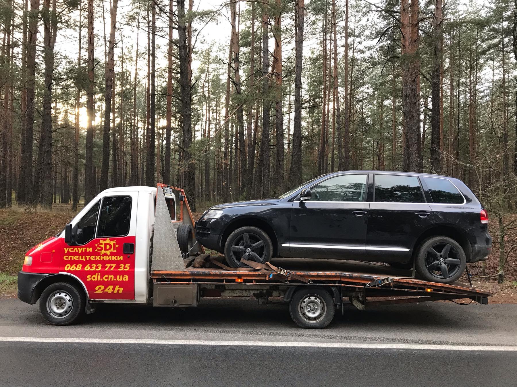 вызов эвакуатора для легкового авто