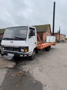 грузовой эвакуатор 5т