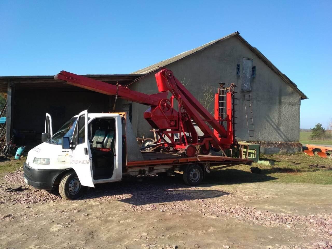 услуги эвакуатора для перевозки сельхозтехники
