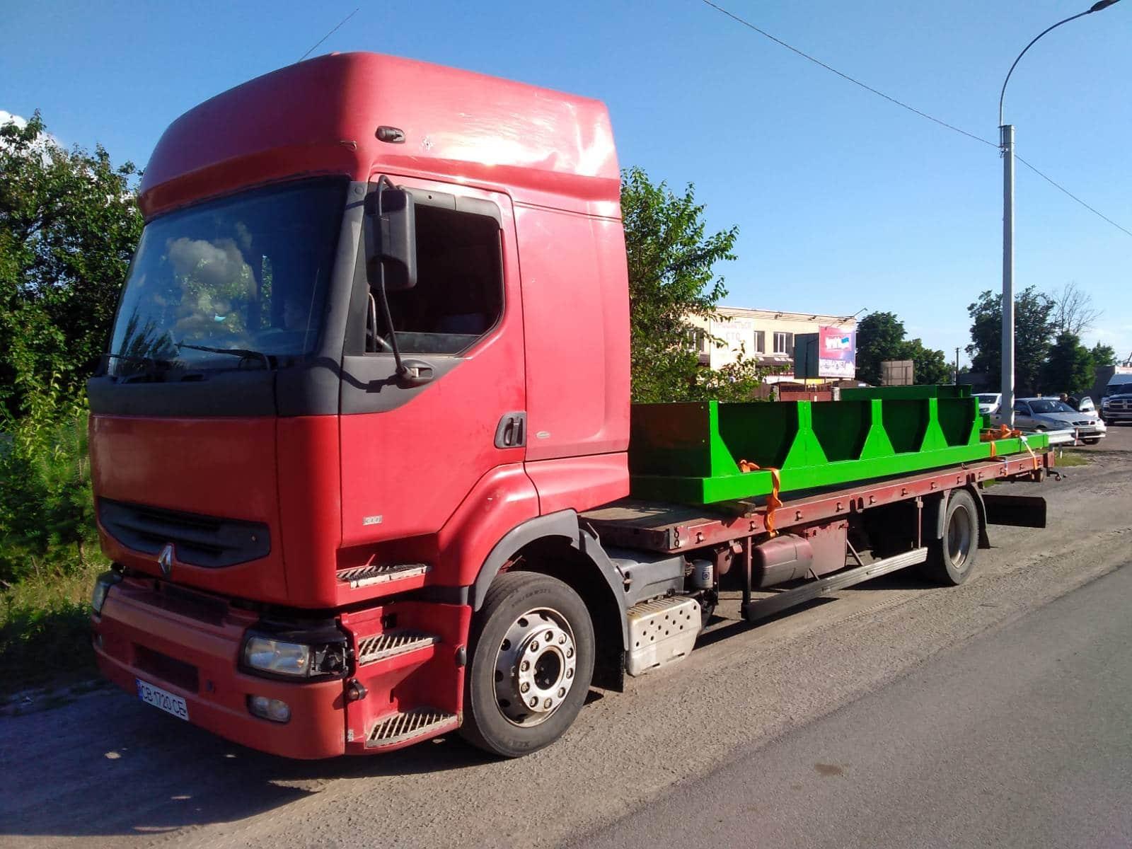 грузовой эвакуатор 12т
