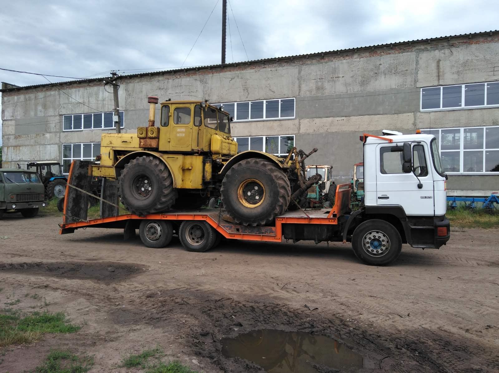 перевозка трактора эвакуатор Чернигов